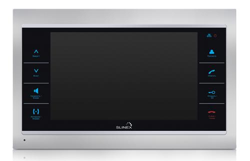 Монитор slinex sl-10ip цветной видеодомофон